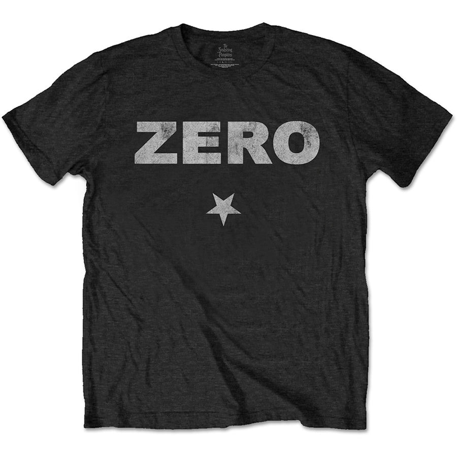 Smashing Pumpkins - Zero Distressed - Black t-shirt