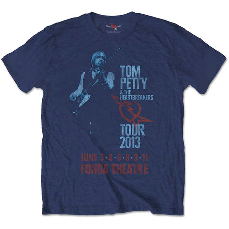 Tom Petty - Ford Theatre-Tour 2013 - Navy Blue T-shirt