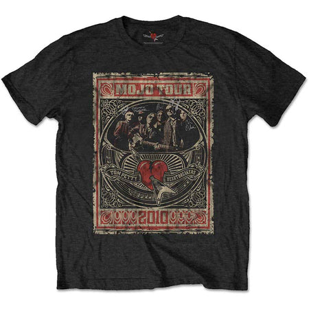 Tom Petty - Mojo Tour - Black T-shirt