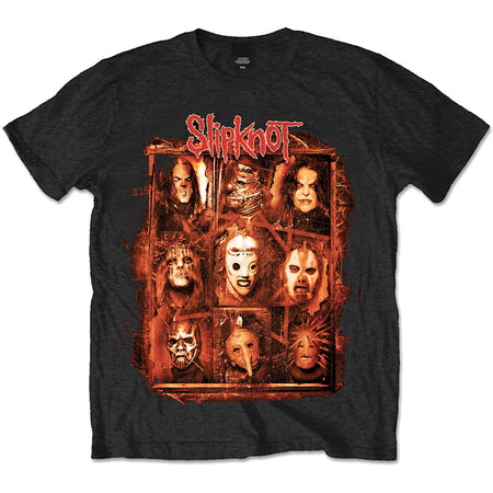 Slipknot - Rusty Mask - Black t-shirt