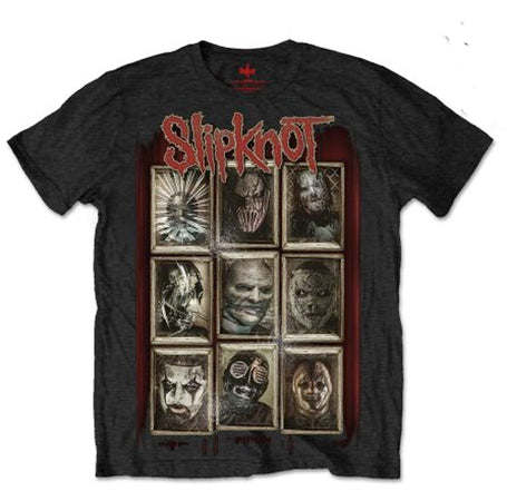 Slipknot - New Masks. - Black t-shirt