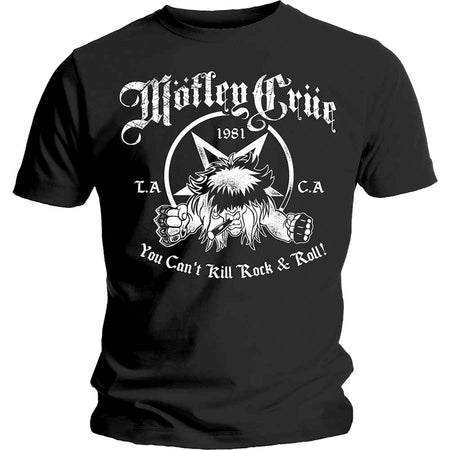 Motley Crue - You Can't Kill Rock & Roll - Black t-shirt