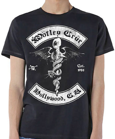 Motley Crue - Feelgood Hollywood Revision - Black t-shirt