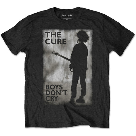 The Cure - Boys Dont Cry Black & White - Black t-shirt