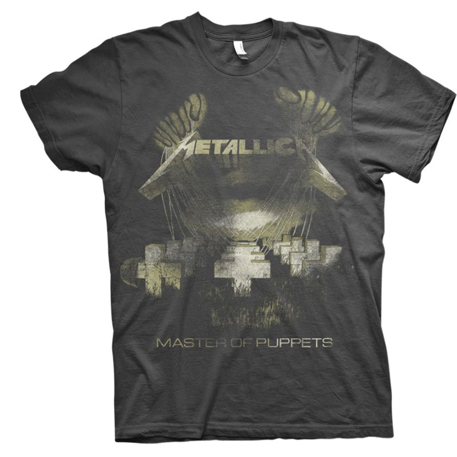 Metallica - Master Of Puppets Distressed - Black t-shirt