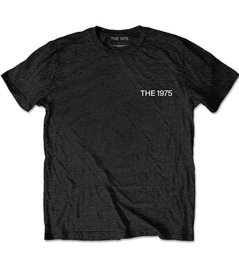 The 1975 - ABIIOR Welcome Welcome with Back Print - Black t-shirt