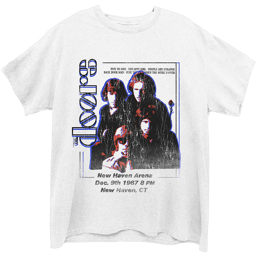 The Doors - New Haven - White t-shirt