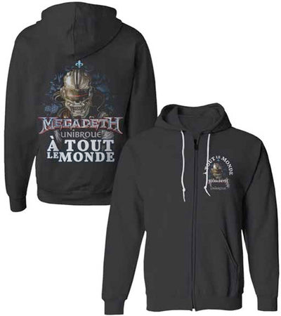 Megadeth - A Tout Le Monde - Black Hooded Sweatshirt