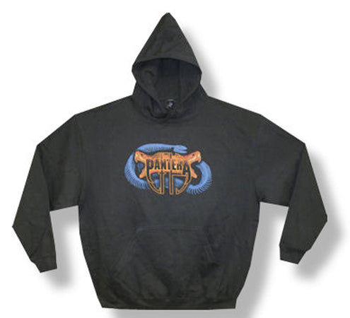 Pantera - Snake Heads - Black  Hooded Sweatshirt