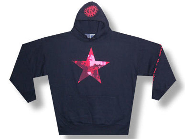 Rage Against The Machine - Red Star - Black Pullover Sweatshirt