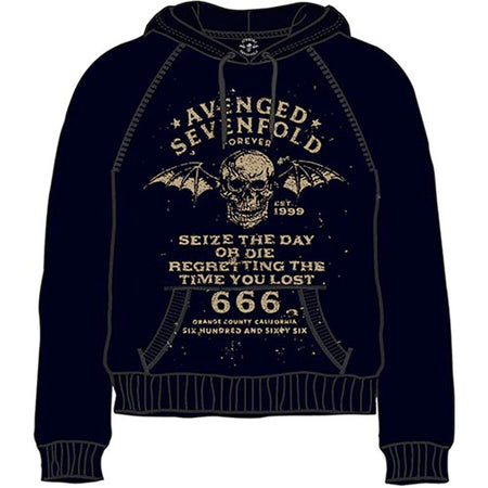 Avenged Sevenfold - Seize The Day -Pullover Black Hooded Sweatshirt