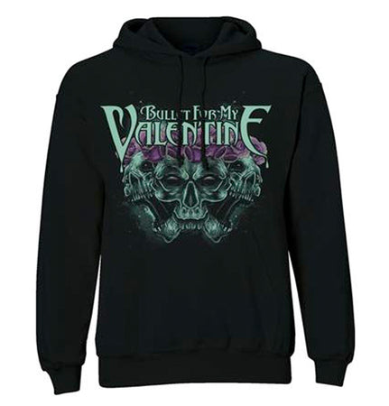 Bullet For My Valentine - Crown Of Roses - Pullover Black Hooded Sweatshirt