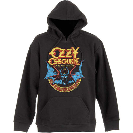 Ozzy Osbourne - Bat Circle-No More Tours - Pullover Black Hooded Sweatshirt