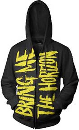 Bring Me The Horizon - Logo - Zip Up Hooded Sweatshirt