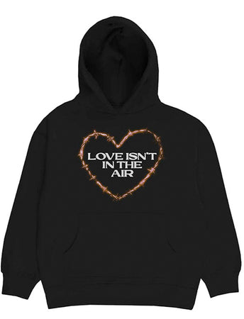 Bring Me The Horizon - Love - Pullover Black Hooded Sweatshirt