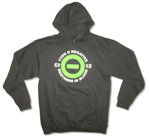 Type O Negative - Blood 13 - Pullover Black Hooded Sweatshirt