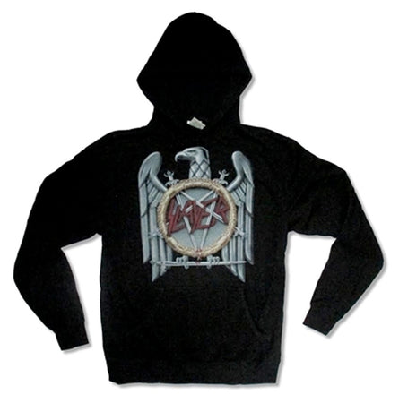 Slayer - Big Eagle - Pullover Black Hooded Sweatshirt