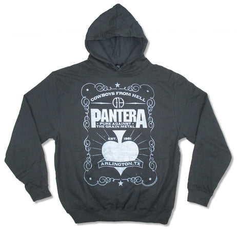 Pantera - Spade - Black  Hooded Sweatshirt