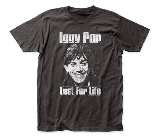 Iggy Pop - Lust For Life -  Black  t-shirt