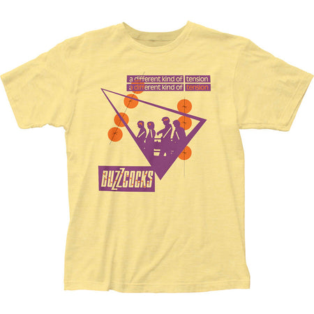 Buzzcocks - A Different Kind Of Tension - Banana Cream t-shirt