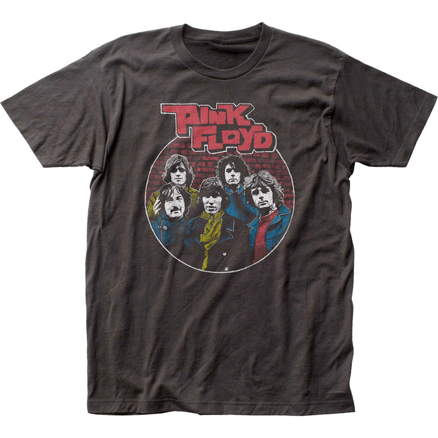 Pink Floyd - Early Years Circle - Coal t-shirt