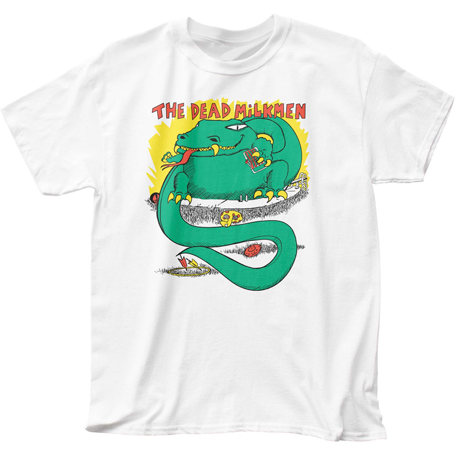 Dead Milkmen - Big Lizard - White t-shirt