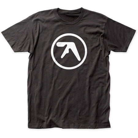Aphex Twin - Logo - Black t-shirt