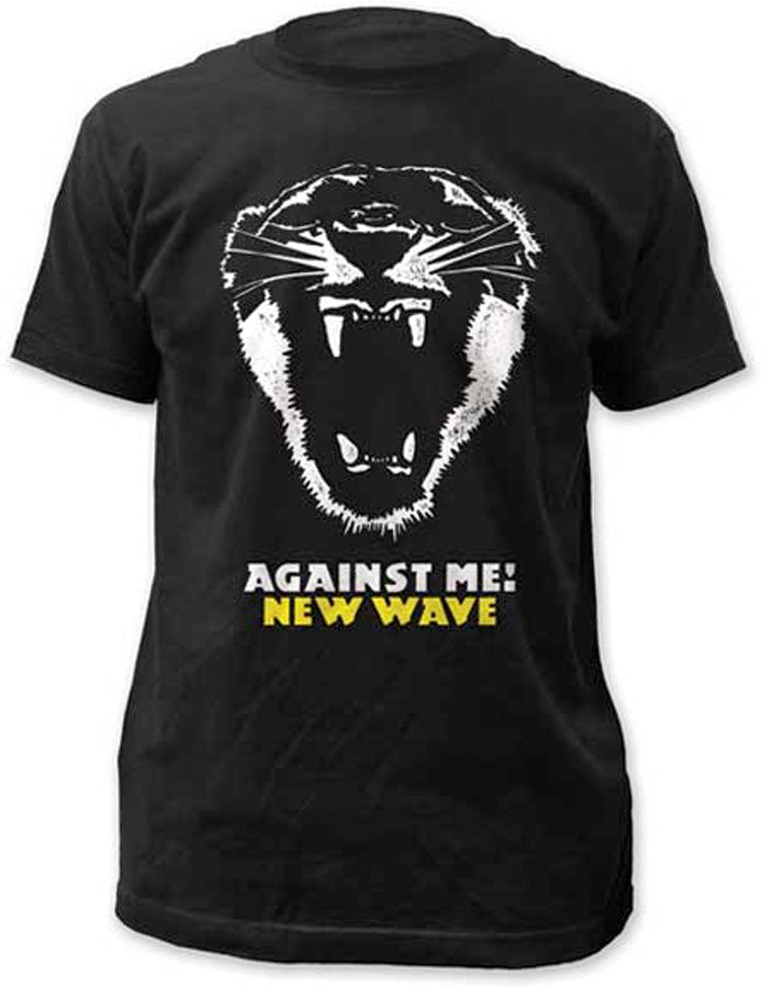 Against Me - New Wave -  Black t-shirt
