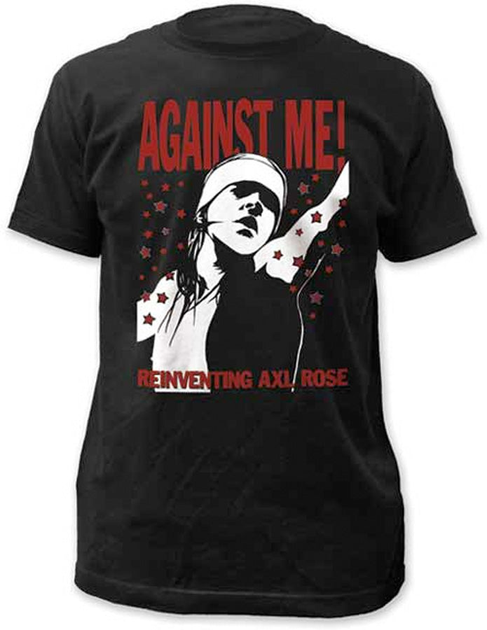 Against Me - Reinventing Axl Rose - Black t-shirt