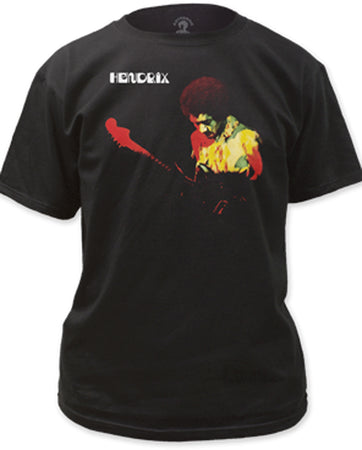 Jimi Hendrix - Band Of Gypsies - Black t-shirt
