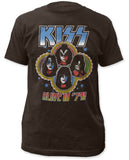 Kiss - Alive In 79 - Coal t-shirt