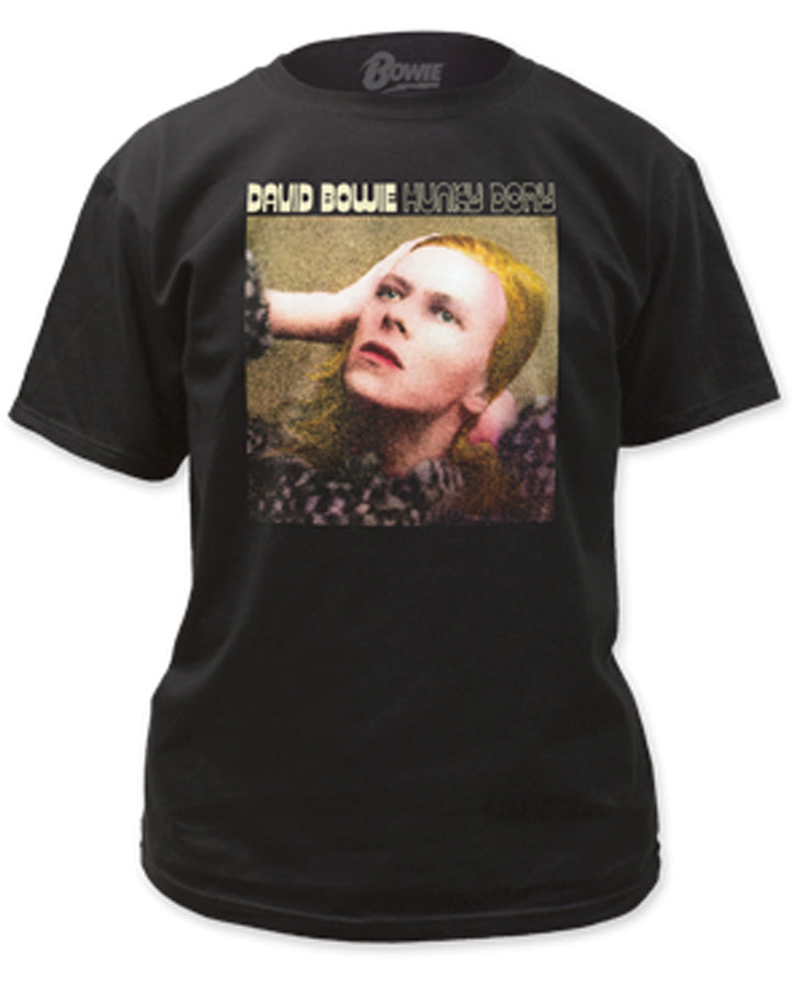 David Bowie - Hunky Dory Cover - Black t-shirt