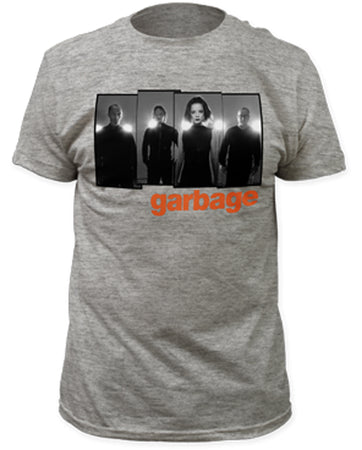 Garbage - Panels - Heather Grey t-shirt