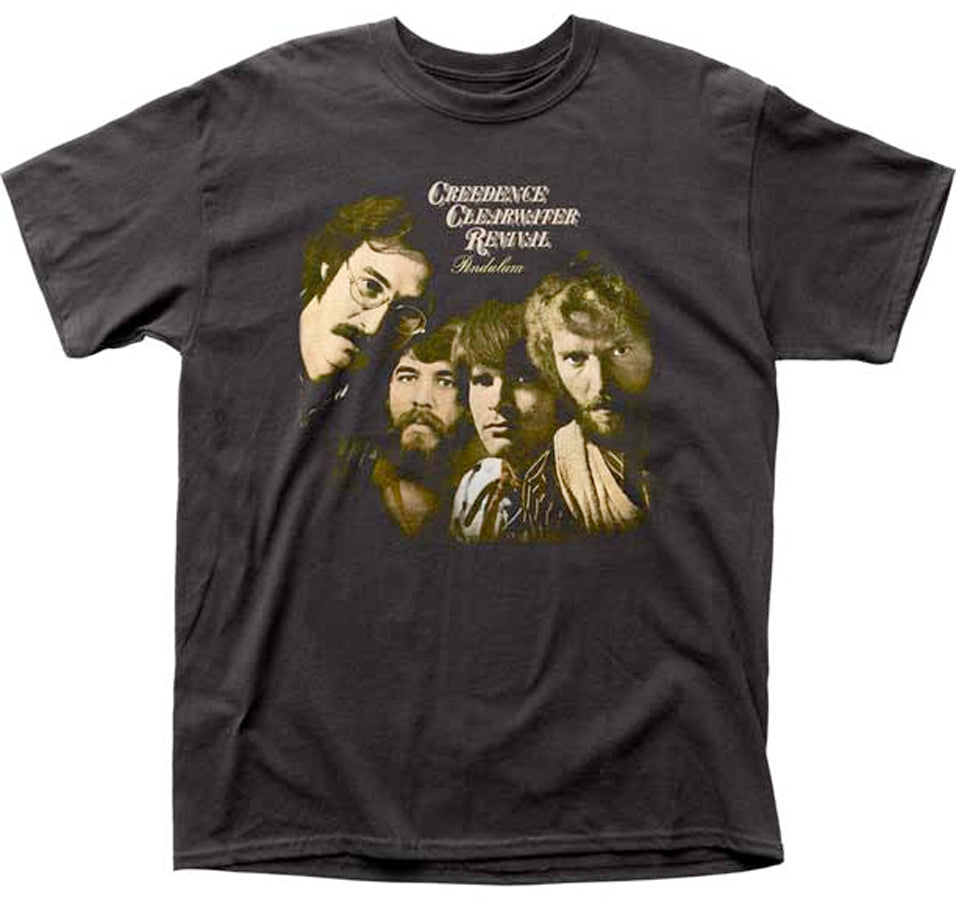 Creedence Clearwater Revival - Pendulum - Black t-shirt