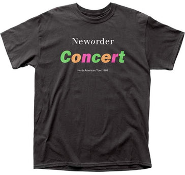 New Order - In Concert - Black t-shirt
