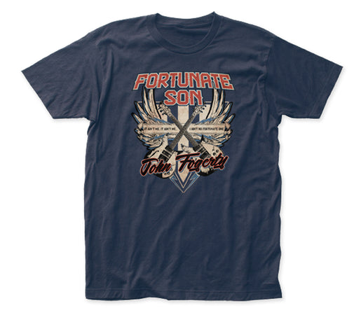 Creedence Clearwater Revival - John Fogarty - Fortunate Son- Black t-shirt