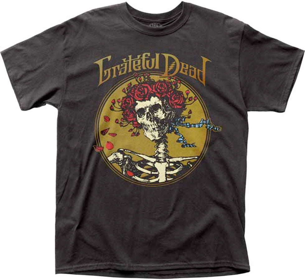 Grateful Dead - Grateful Skull - Black t-shirt