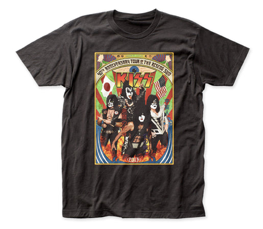Kiss - Japan Tour - Black t-shirt