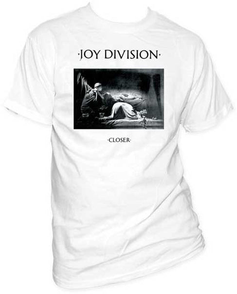 Joy Division Closer Fitted Black T-shirt