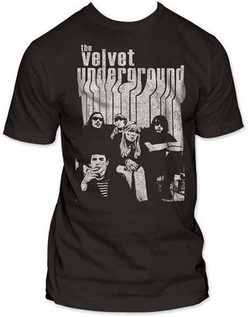 Velvet Underground-Band with Nico Men's fitted t-shirt