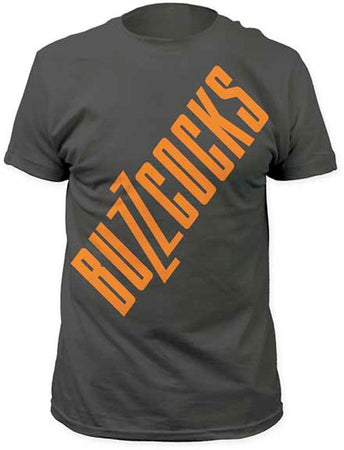 Buzzcocks - Big Logo - Charcoal Gray t-shirt