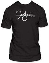 Foghat Established 71 men's fitted Black t-shirt