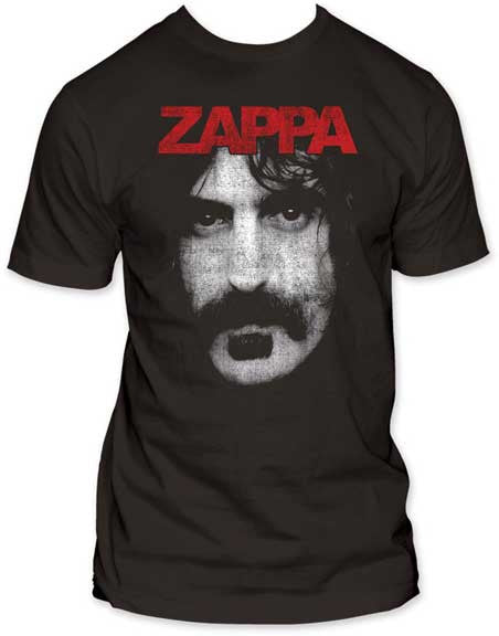 Frank Zappa Zappa on coal men's fitted t-shirt