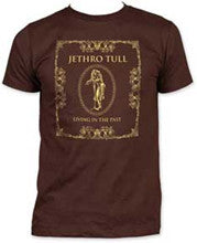 Jethro Tull Living in the Past Dark Chocolate men's fitted t-shirt