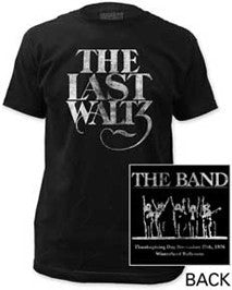 The Band The Last Waltz Black Men's Fitted t-shirt