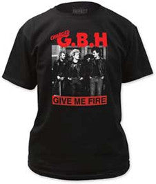 GBH Give Me Fire Black T-shirt