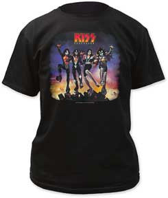 Kiss Destroyer Black t-shirt