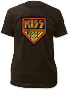 Kiss Kiss Army Black Fitted t-shirt