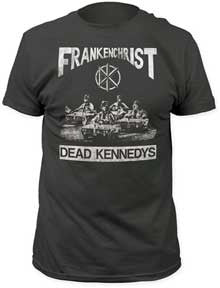 Dead Kennedys Frankenchrist Charcoal Fitted t-shirt