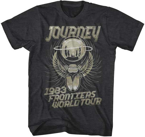 Journey Frontiers Black t-shirt